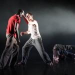 Ibrahim, Alban et Jérôme dans Korfa, l'odyssée