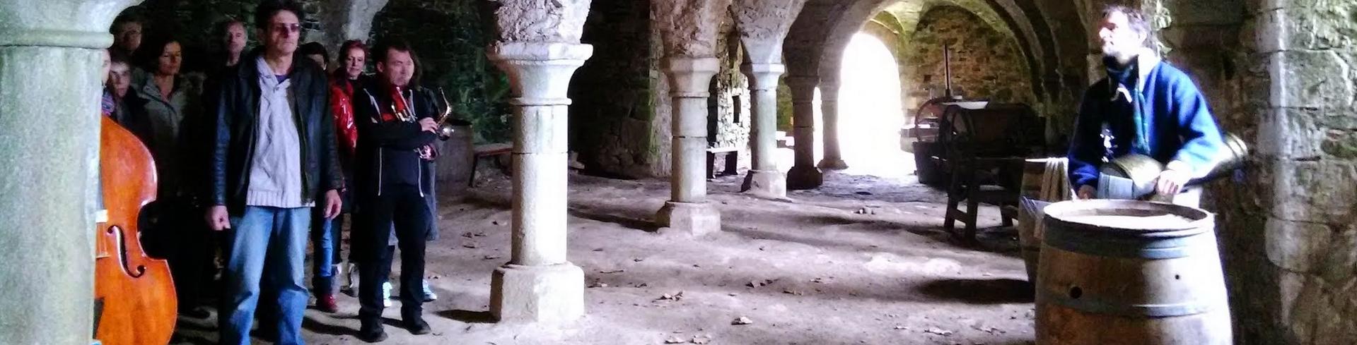 Couleur Jazz répète à l'Abbaye de Beauport